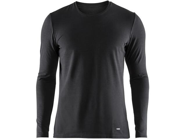 Craft Essential Warm Bluse Herrer, black